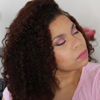 Pink Eye Look and Lip Color using some on my favorite brands. http://www.growitgirl.com