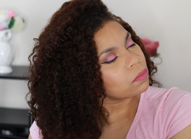 Pink Eye Look and Lip Color using some on my favorite brands. http://www.justtiki.com