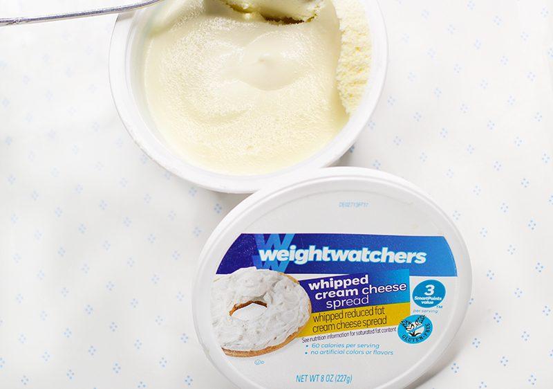 Weight Watchers Whipped Cream Cheese