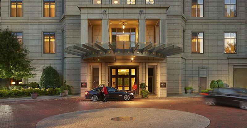 Mandarin Oriental Hotel Exterior View