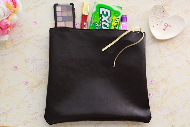 No Sew DIY Clutch Tutorial