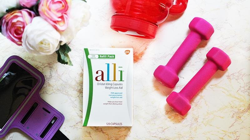 Alli Weight Loss Supplement Box