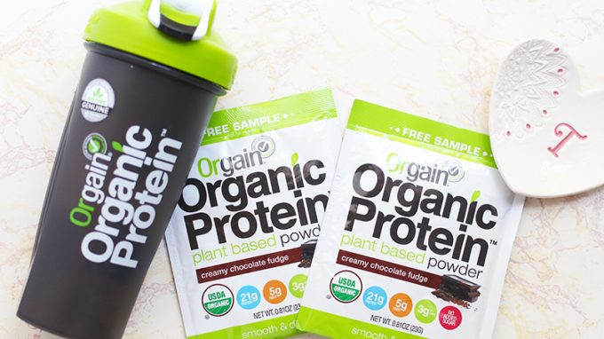 orgain-organic-protien-powder-and-tumbler