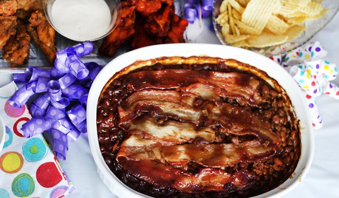 #Ad Game Day Eats | Southern Style Baked Beans Recipe