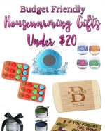 Budget Friendly Housewarming Gifts Under $20