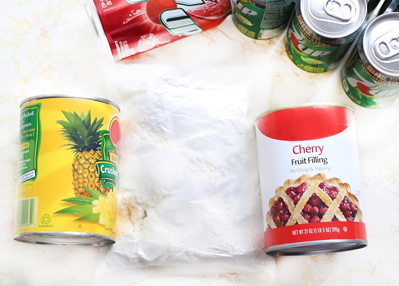 cherry-pineapple-dump-cake-cake-mix-and-fruit