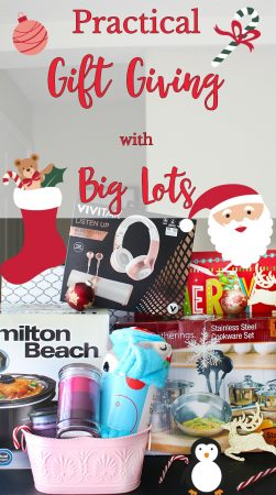Practical Gift Giving with Big Lots