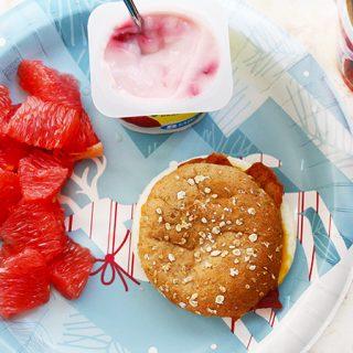 A full Jenny Craigh Breakfast