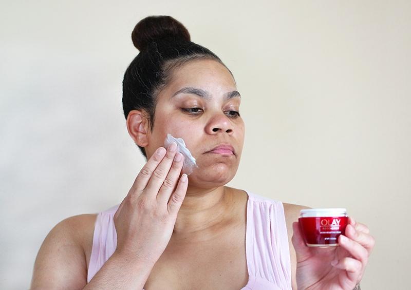 Hydration Boost with Olay Regenerist Micro-Sculpting Cream