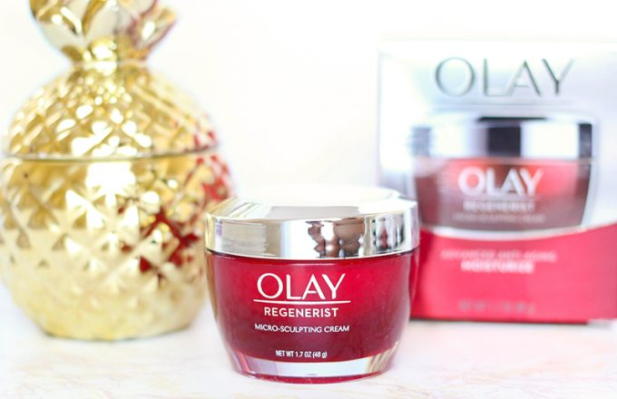 Hydration Boost with Olay Regenerist Micro-Sculpting Cream
