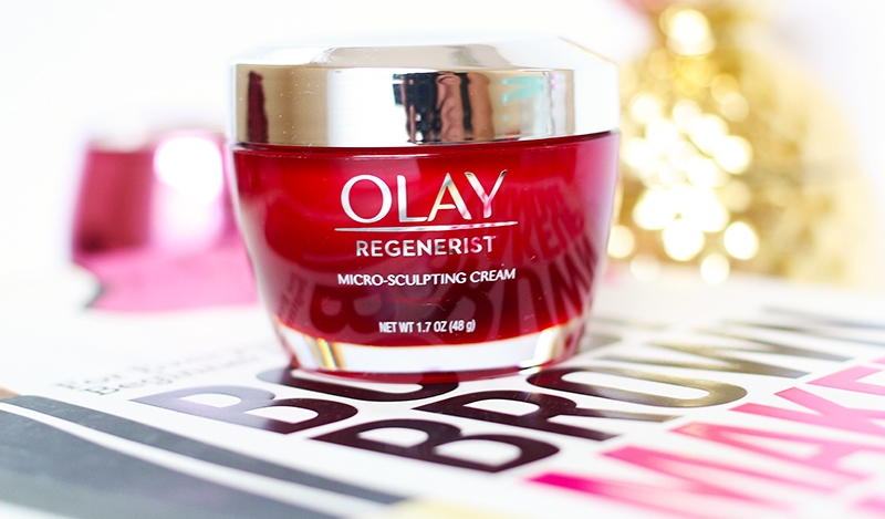 Olay Regenerist Micro-Sculpting Cream container