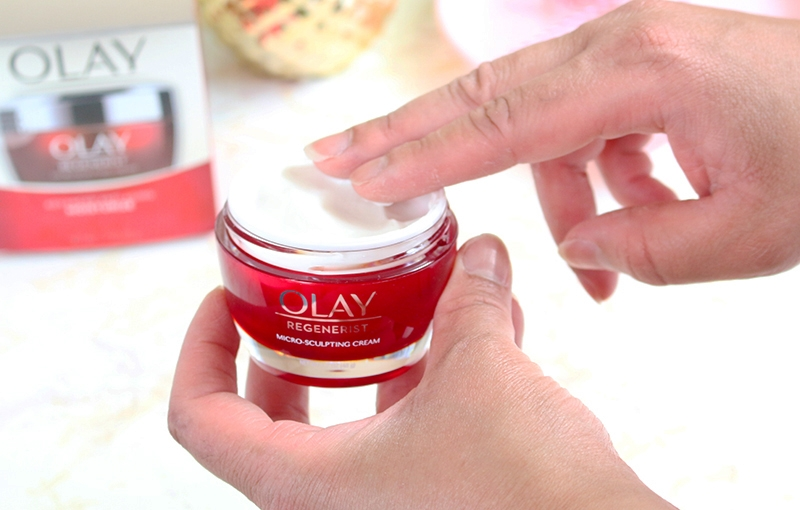 Olay Regenerist Micro-Sculpting Face Cream and Moisturizer