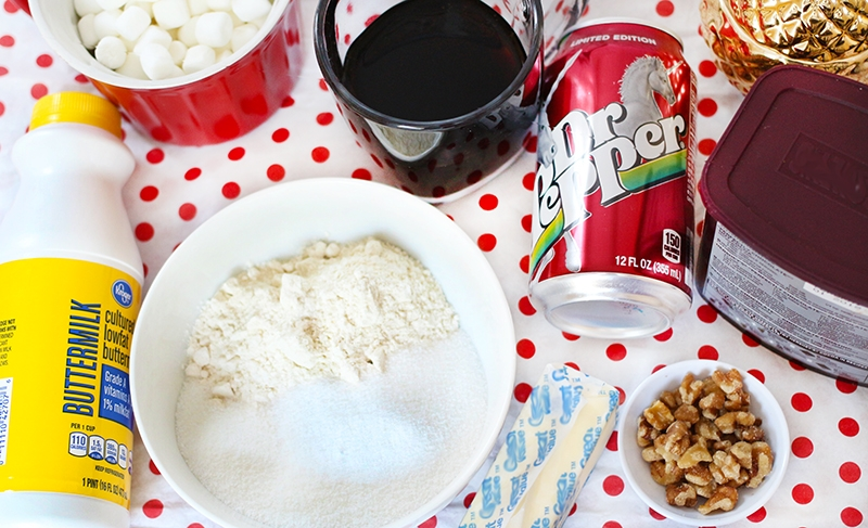 Dr Pepper Cake Ingredients