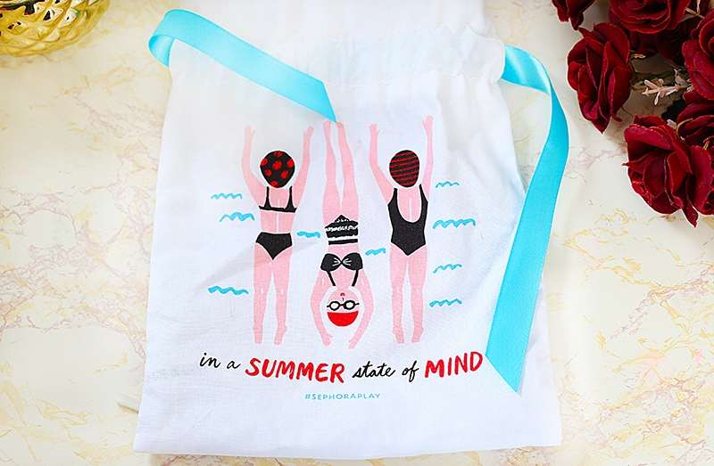 Summer State Of Mind July Play by Sephora Bag