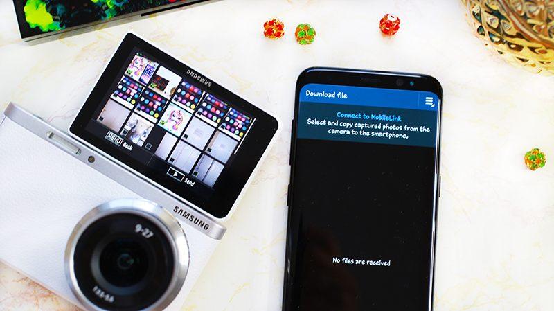 Samsung NX Mini and Galaxy S8