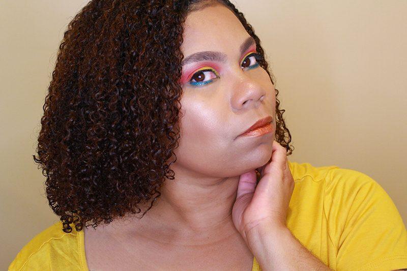 Tropical Makeup Look