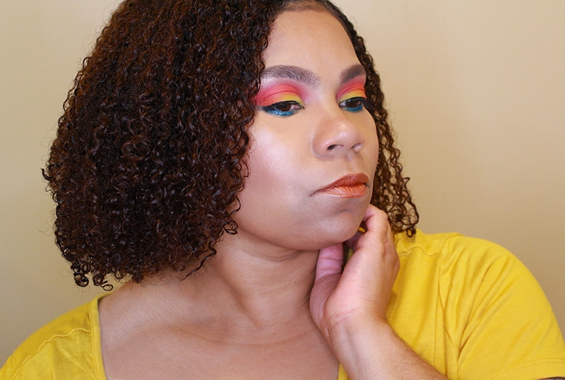 Tropical Sunset Makeup