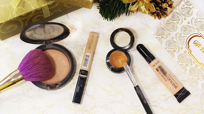 A few concealers