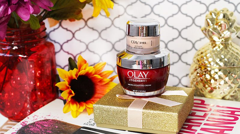 Olay Regnerist Micro Sculpting Cream and Ultimate Eye Cream