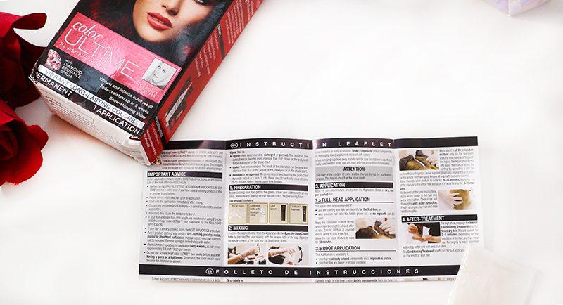 Schwarzkopf Color Ultime Color Cream Instructions