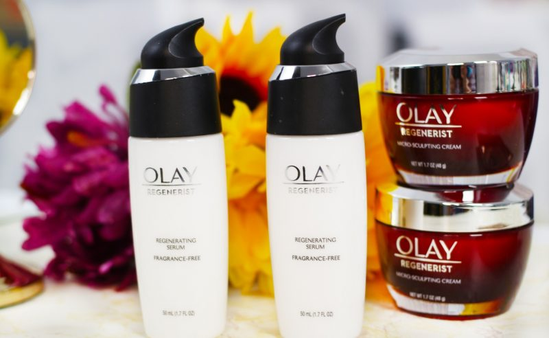 Olay Regenerist Regenerating Serum and Micro-sculpting Cream