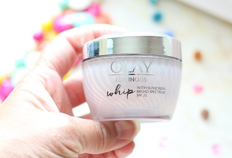 Closer View of Olay Whips with SPF 25