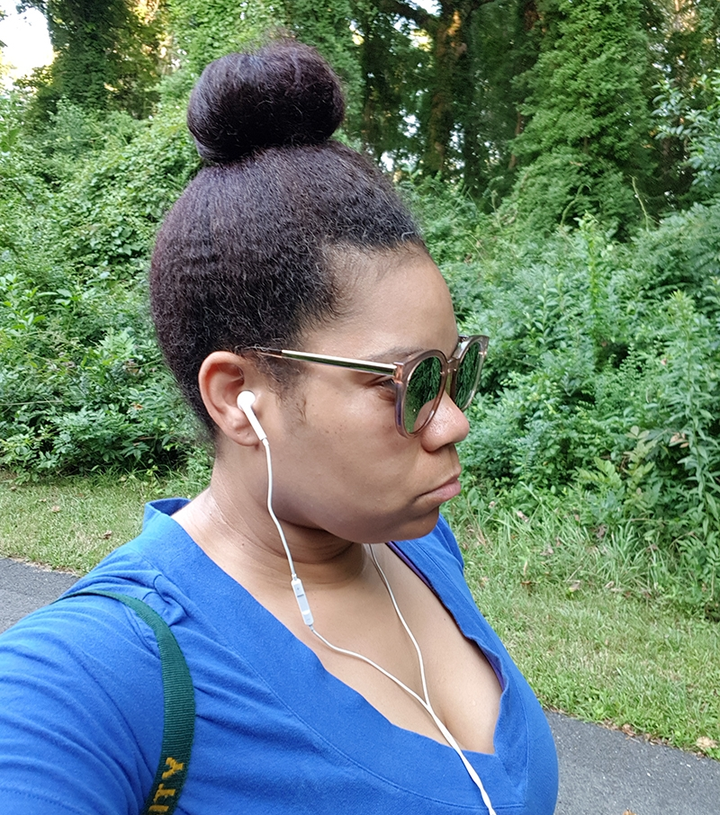 Strolling through the park to lose weight. How I lost 30lbs and found myself